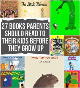 27 books to read to kids