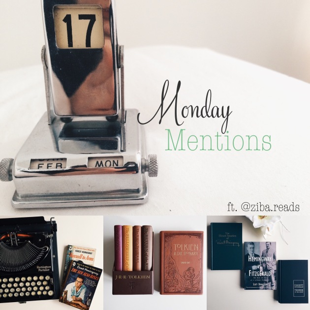 Monday Mentions