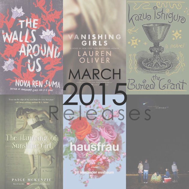 March 2015 New Book Releases