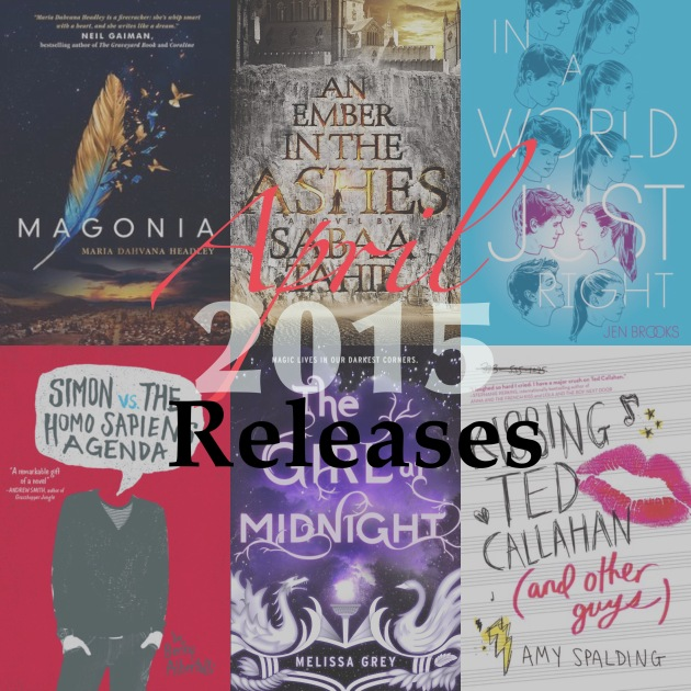 April 2015 New Book Releases